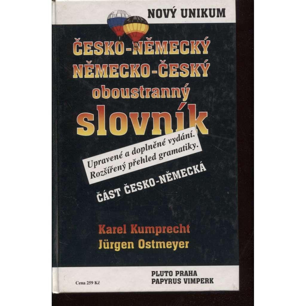 Česko-německý / německo-český oboustranný slovník
