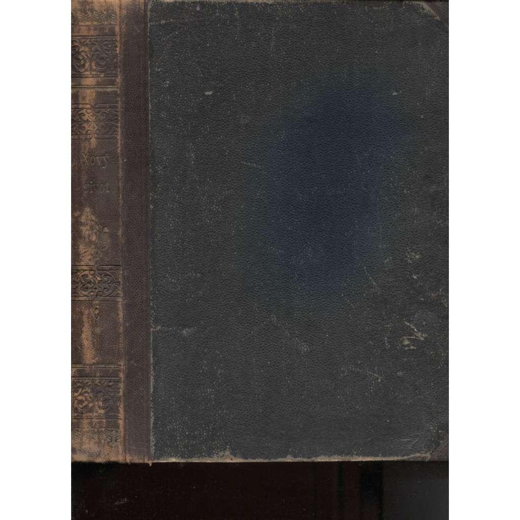 Nový život, ročník 6./1901. Měsíčník pro umění, vzdělání a zábavu (vazba kůže)