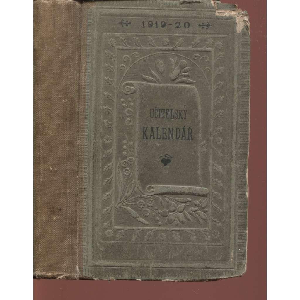 Učitelský kalendář na rok 1919-1920