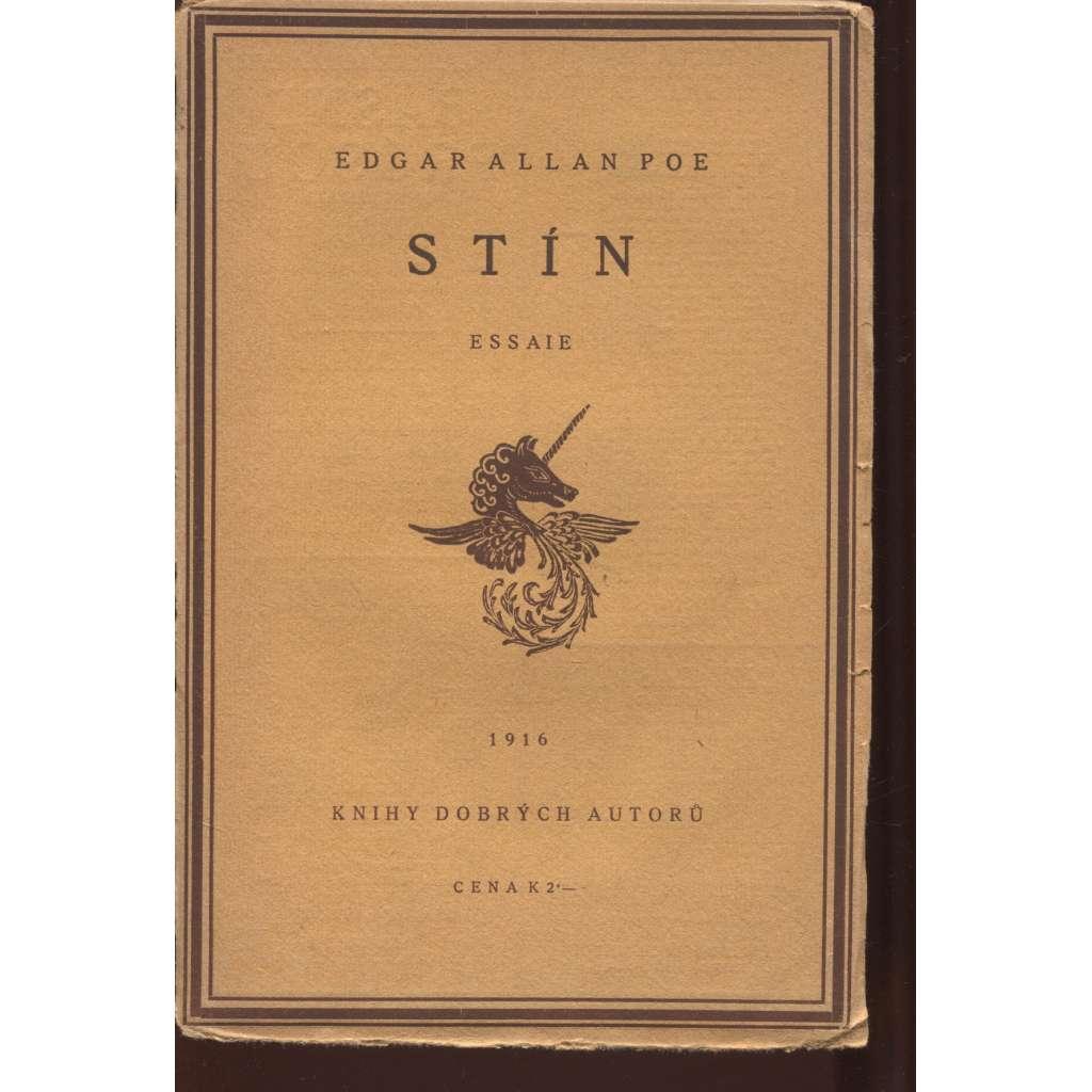 Stín (Essaie) - Knihy dobrých autorů
