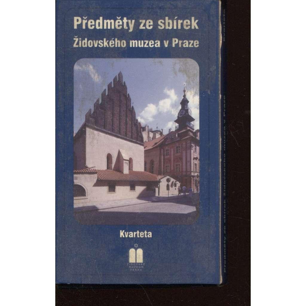 Předměty ze sbírek Židovského muzea v Praze / Items from the collections of the Jewish Museum in Prague (karty kvarteta)