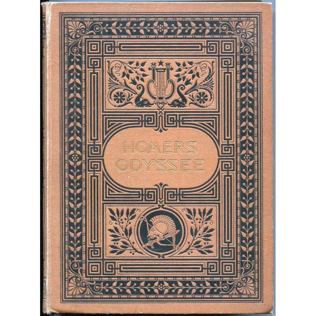 Homer's Odyssee. Vossische Übersetzung. Stereotyp-Ausgabe, neuer Abdruck [Odysseia; Odyssea; Homér; secesní vazba]