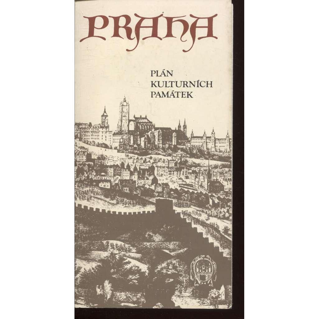 Praha - plán kulturních památek