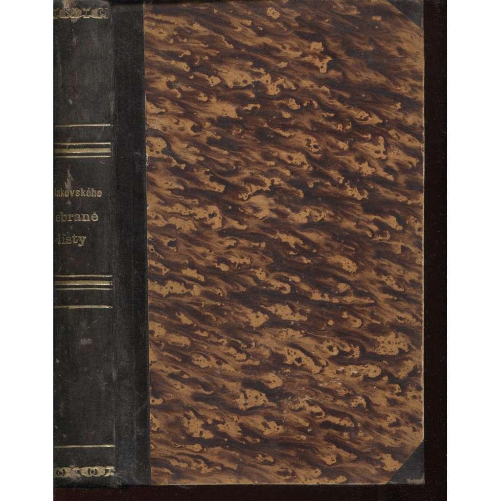 Sebrané listy (vazba kůže, kopie) HOL