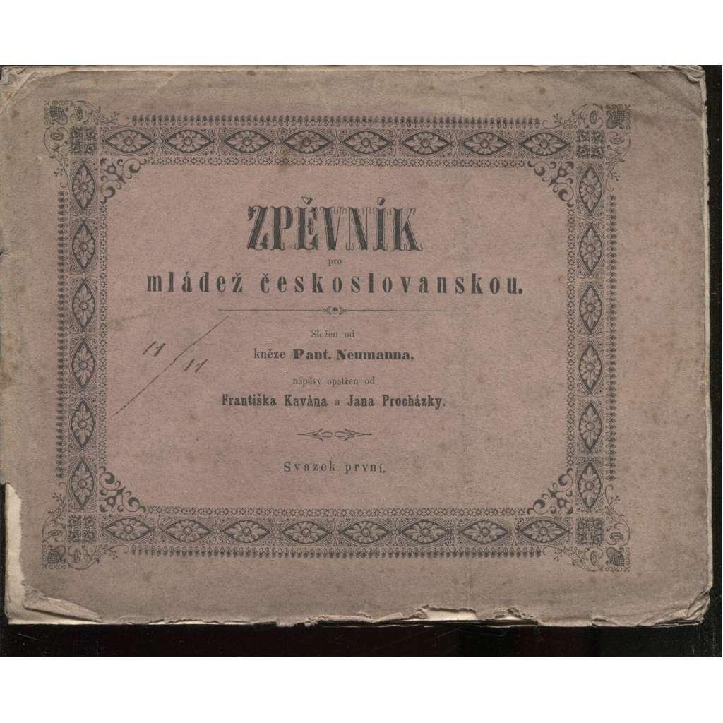 Zpěvník pro mládež českoslovanskou (1850)