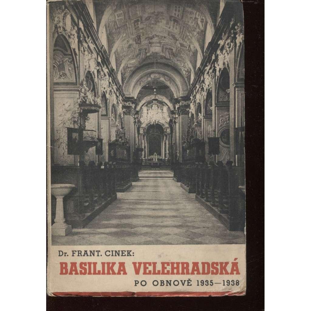 Basilika velehradská po obnově 1935-1938 (Velehrad)