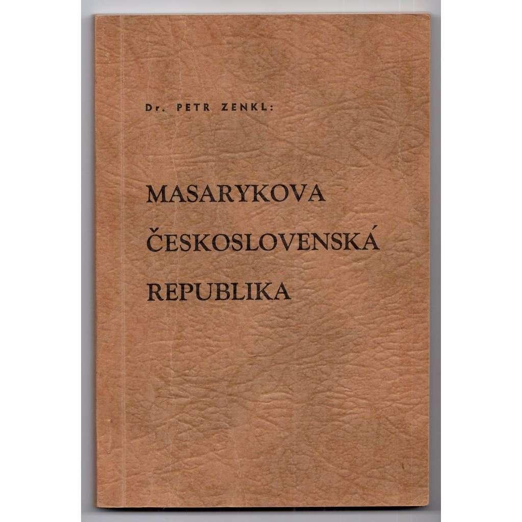Masarykova Československá republika