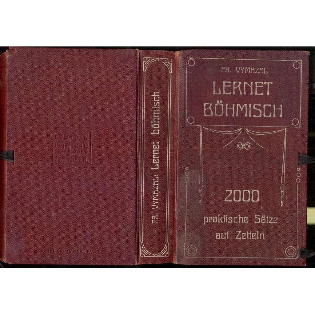 Lernet böhmisch. 2000 praktische Sätze auf Zetteln