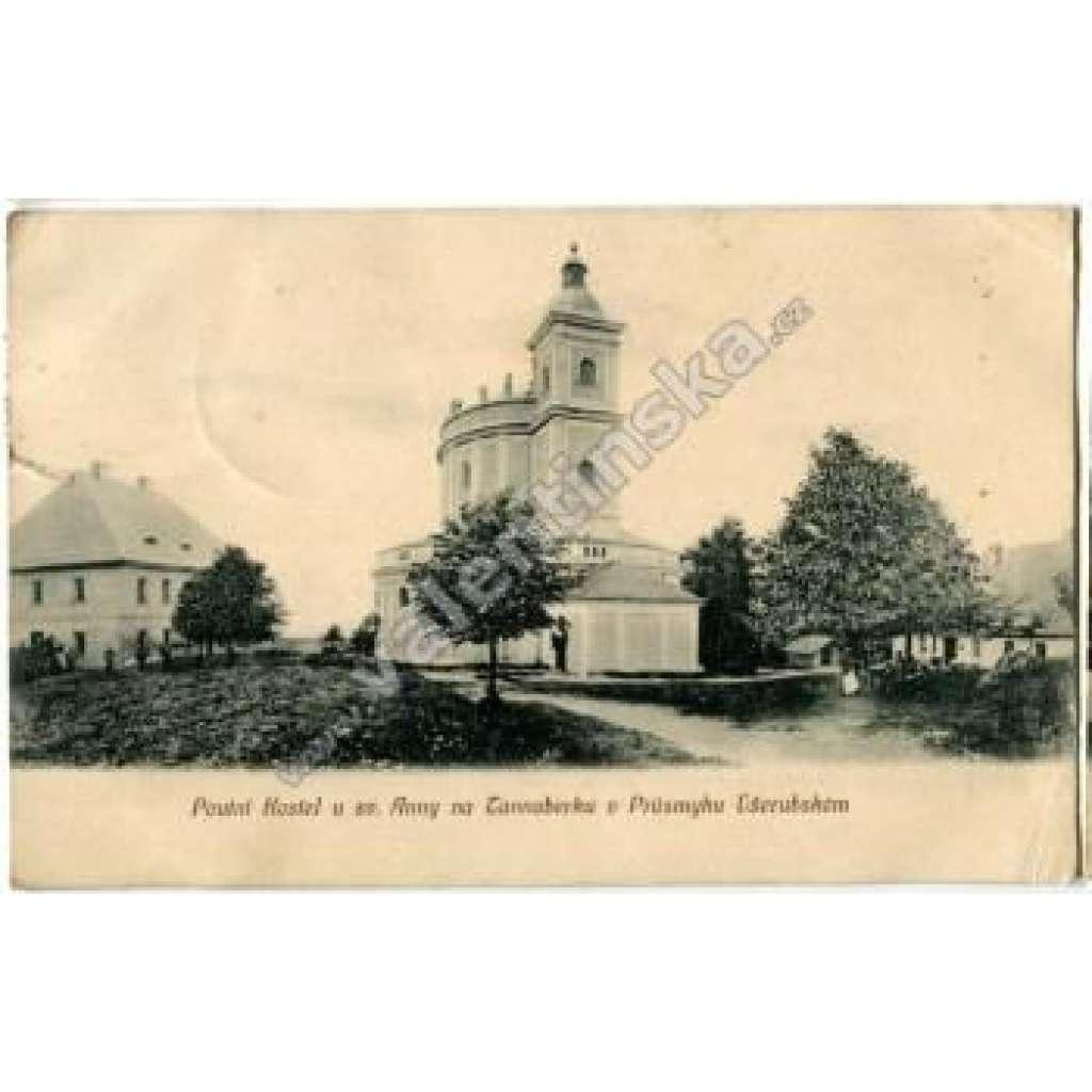 Poutní Kostel u sv. Anny Všeruby Domažlice