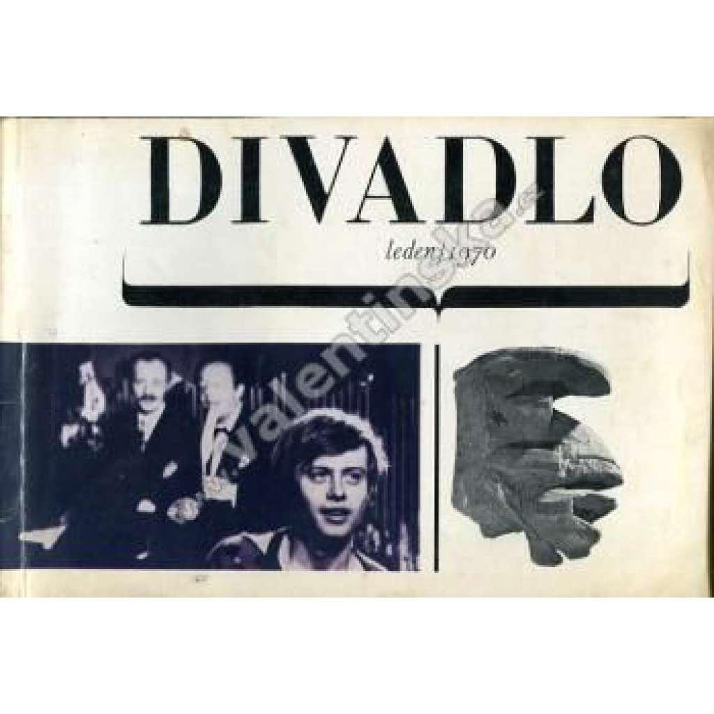 Divadlo - leden/1970