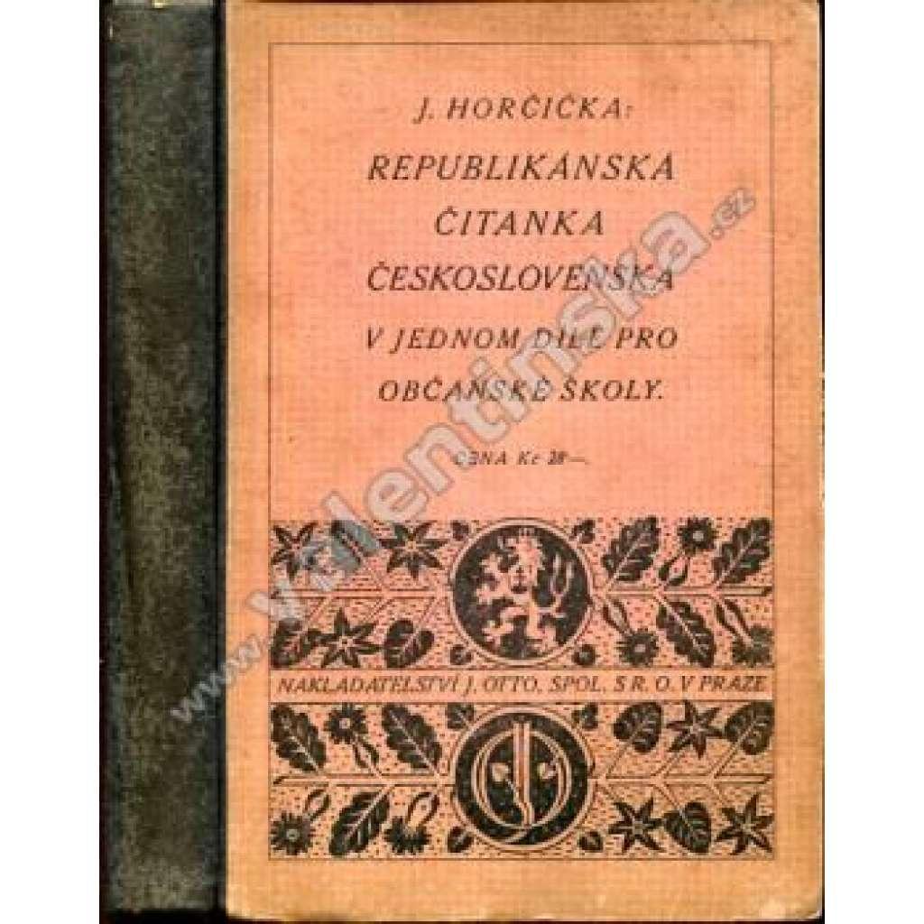 Republikánská čítanka československá ...