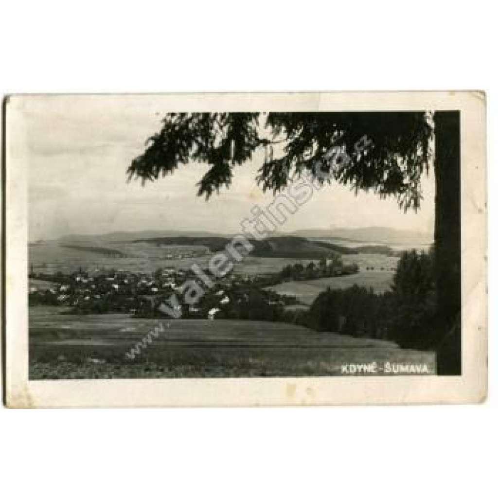 Šumava, Kdyně, okr Domažlice