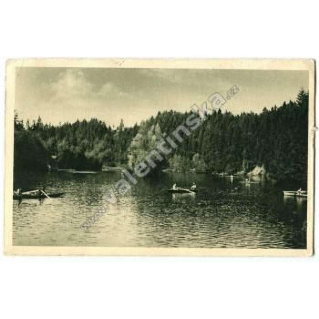 Včelný Ivanské jezero Rychnov nd Kněžnou Javornice