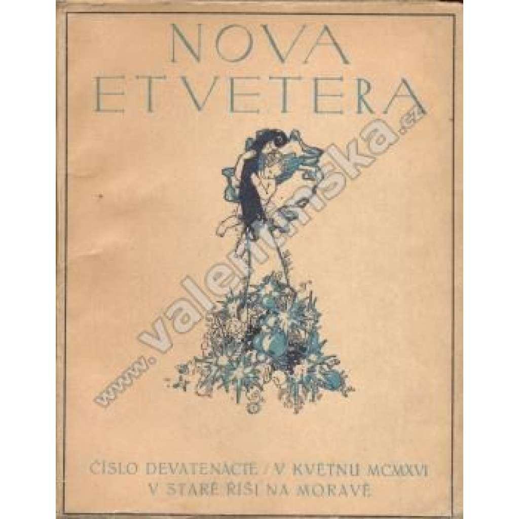 Nova et Vetera, číslo 19.