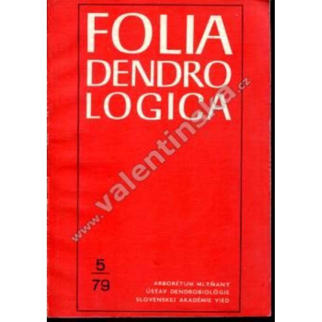 Folia Dendrologica, 5/79