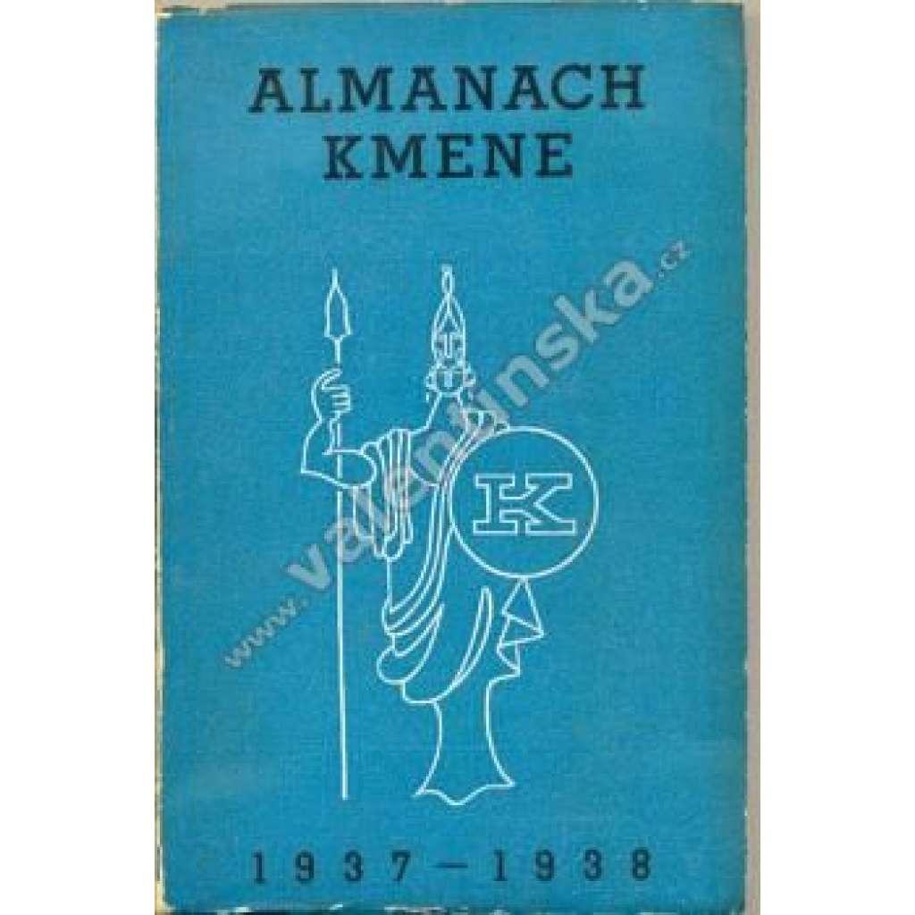 Almanach Kmene 1937 - 1938