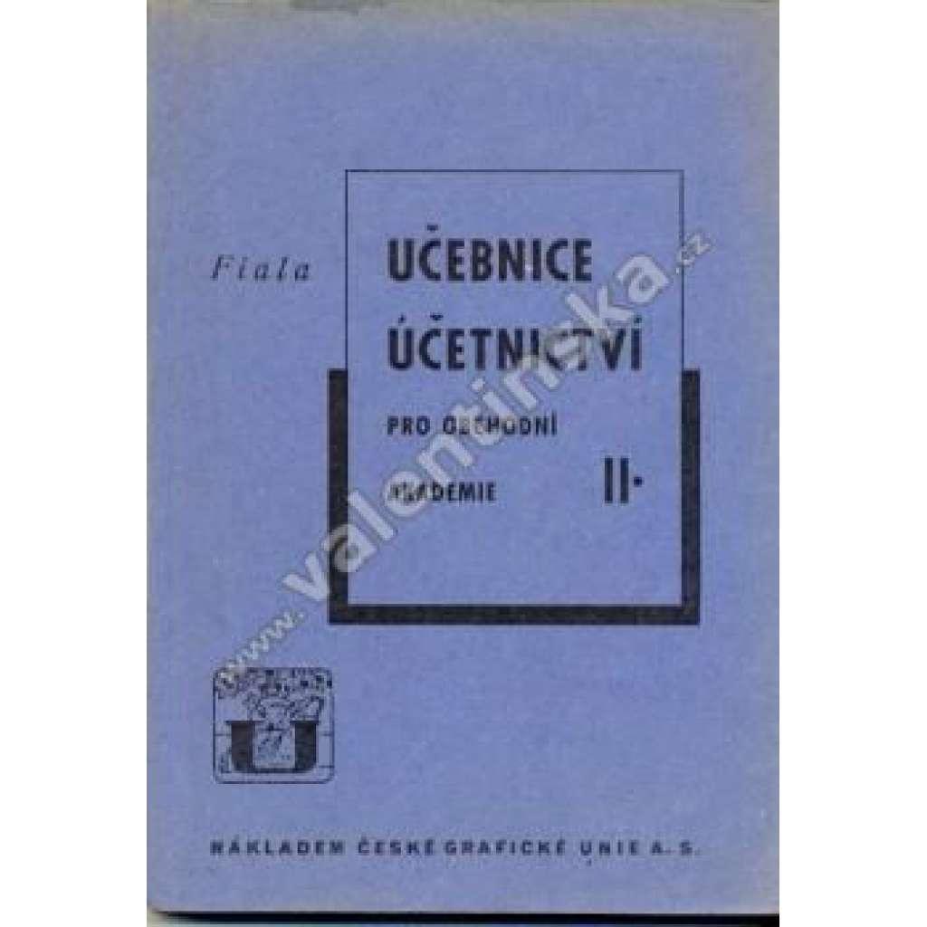 Učebnice účetnictví pro OA, II. díl