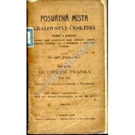 Posvátná místa království českého, díl III.