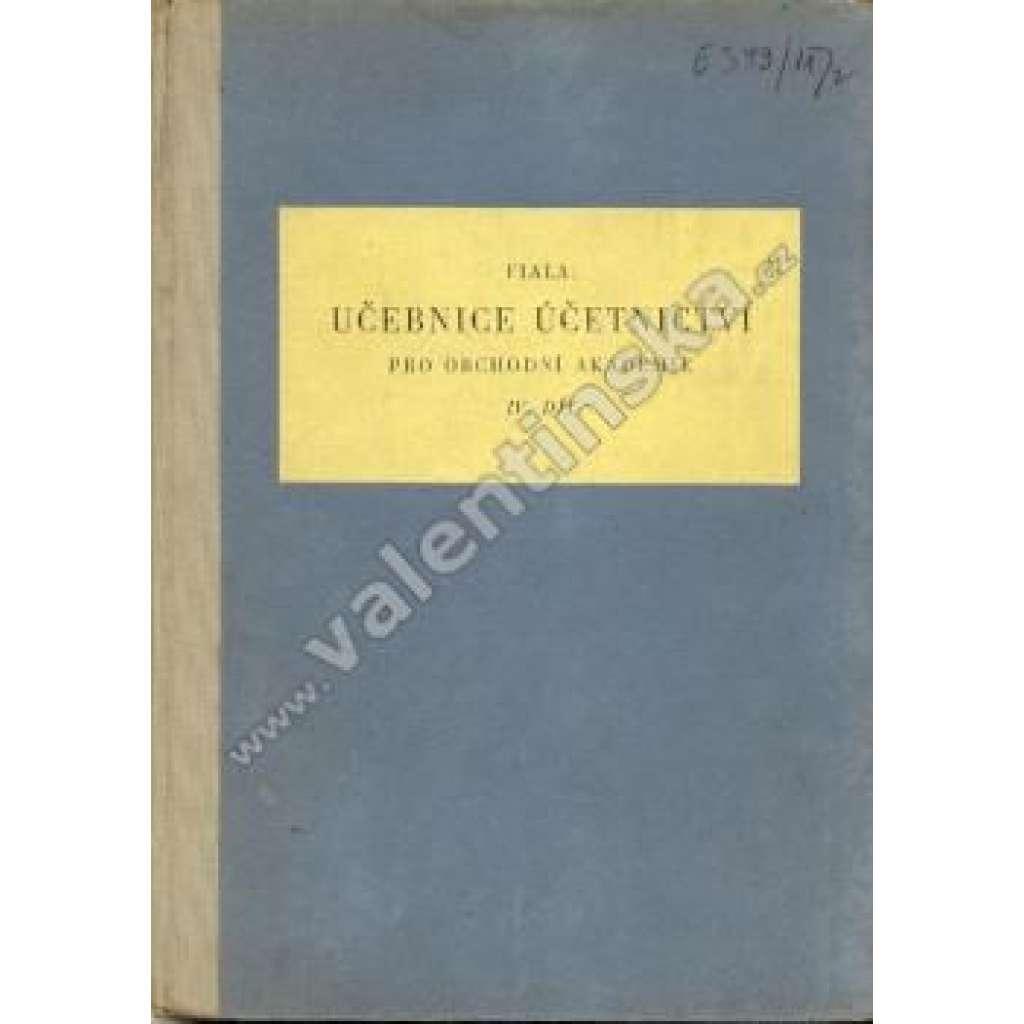 Učebnice účetnictví pro OA, IV. díl