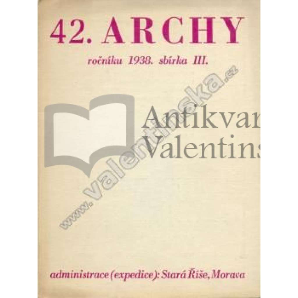 Archy XLII.