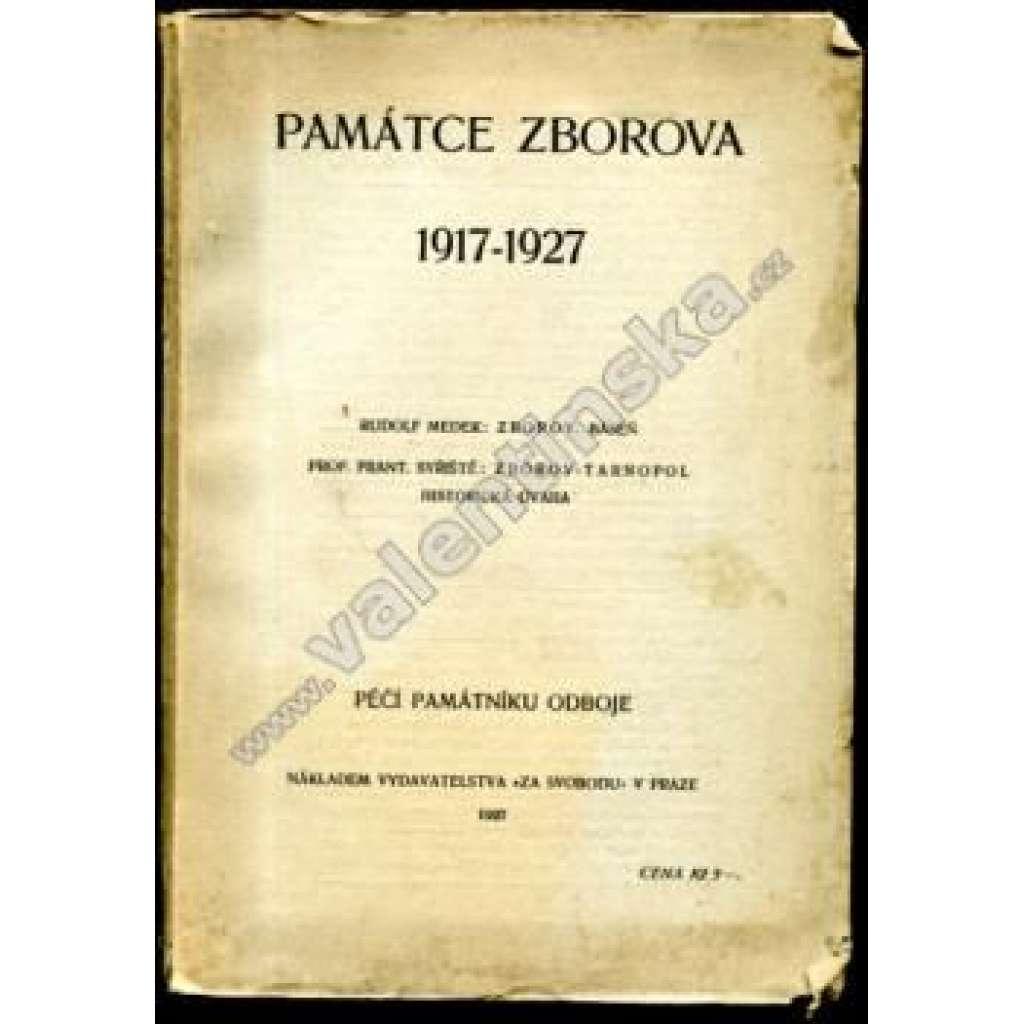 Památce Zborova 1917 - 1927