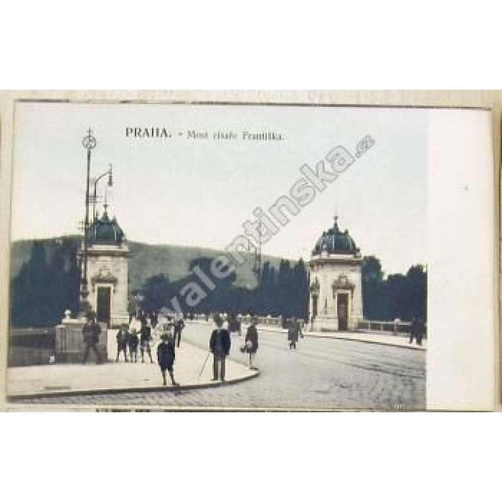 Praha Nové Město, most legií Petřín