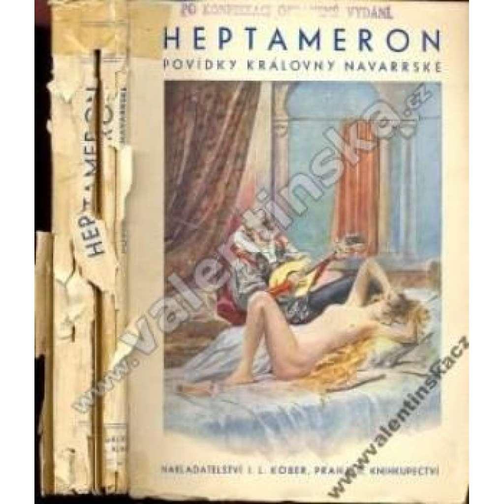 Heptameron - povídky královny Navarské