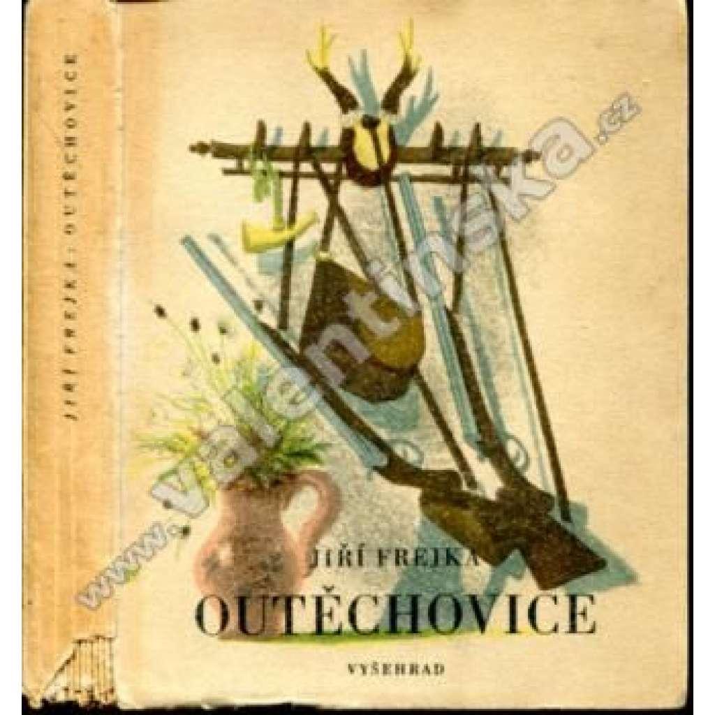 Outěchovice (obálka a ilustrace Jiří Trnka)