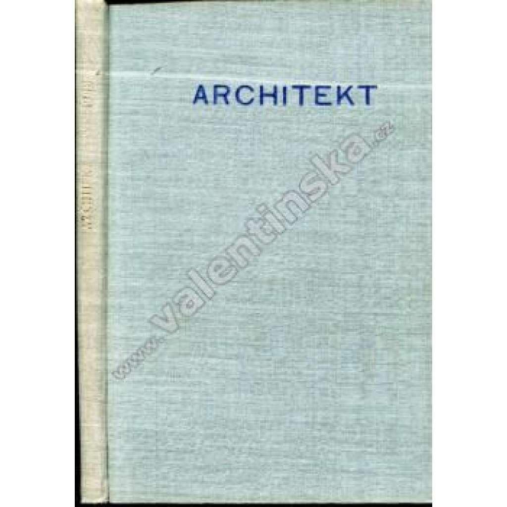 Architekt, ročník XLVI. (1948)