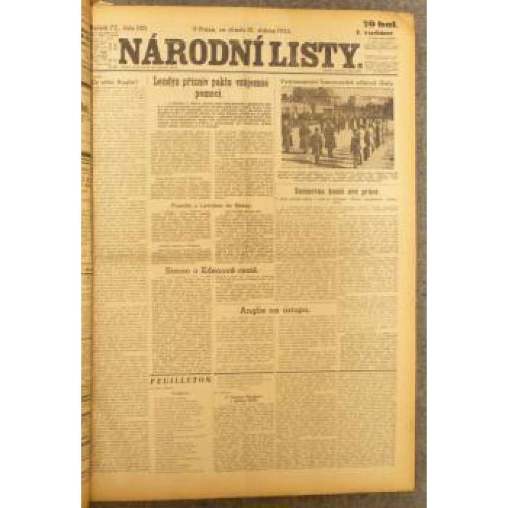 Národní listy, duben 1935 (roč. 75.)