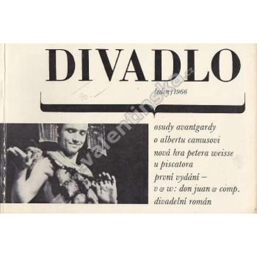 Divadlo - leden/1966