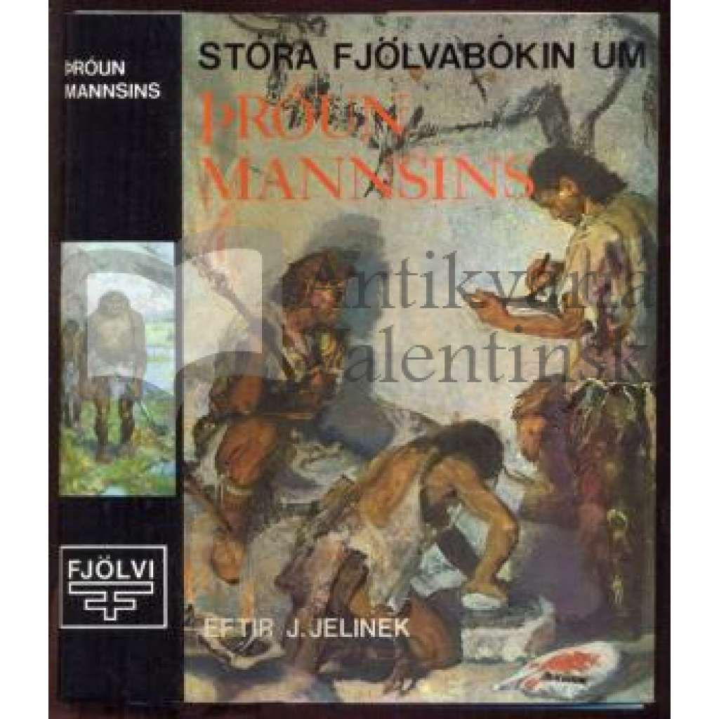 Den stora boken om människans forntid - švédsky