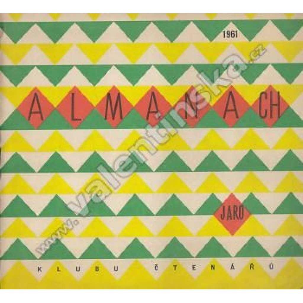 Almanach Klubu čtenářů - jaro 1961