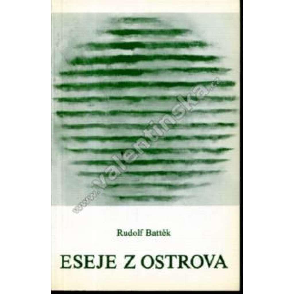Eseje z ostrova (exilové vydání, Index)