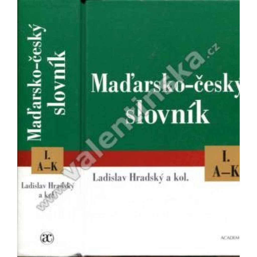Maďarsko-český slovník, KOMPLET 2 svazky (HOL)