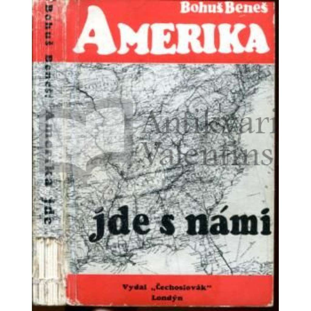 Amerika jde s námi - exilové vydání