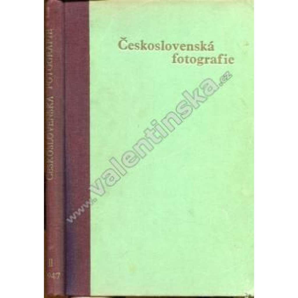 Československá fotografie, ročník II. (1947)