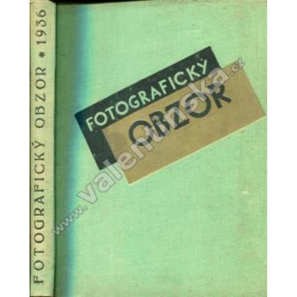 Fotografický obzor, ročník XLIV. (1936)