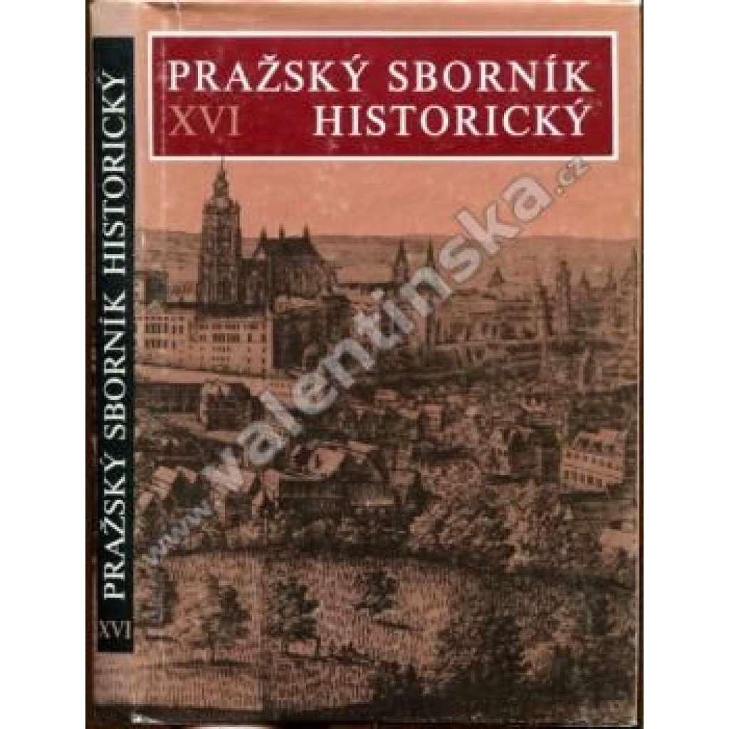 Pražský sborník historický XVI.