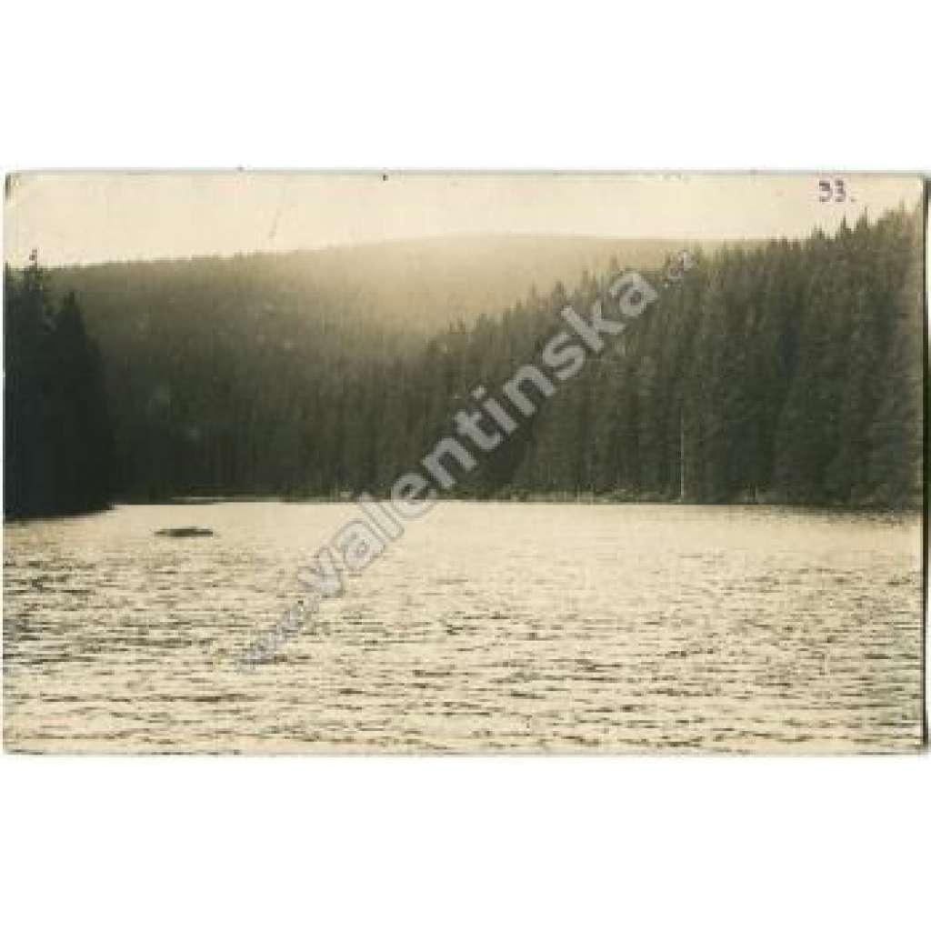 Jezero Laka Prášily Klatovy Šumava Bohmerwald