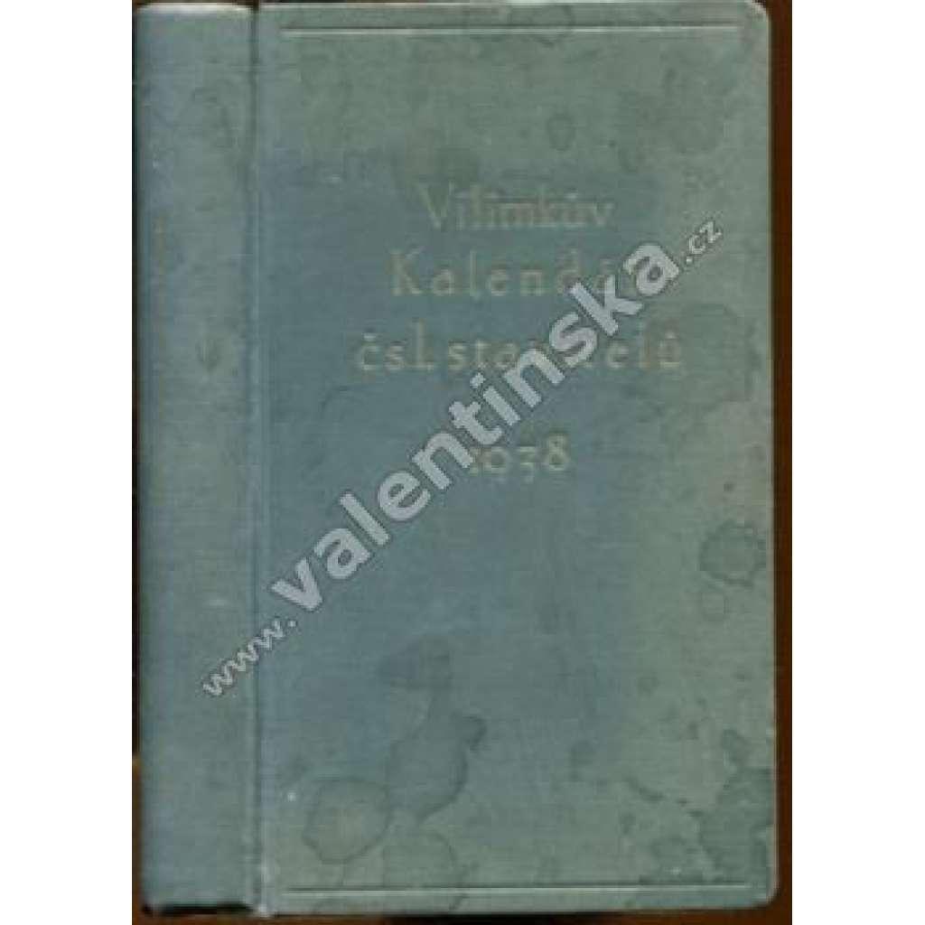 Vilímkův kalendář čsl. stavitelů, 1938