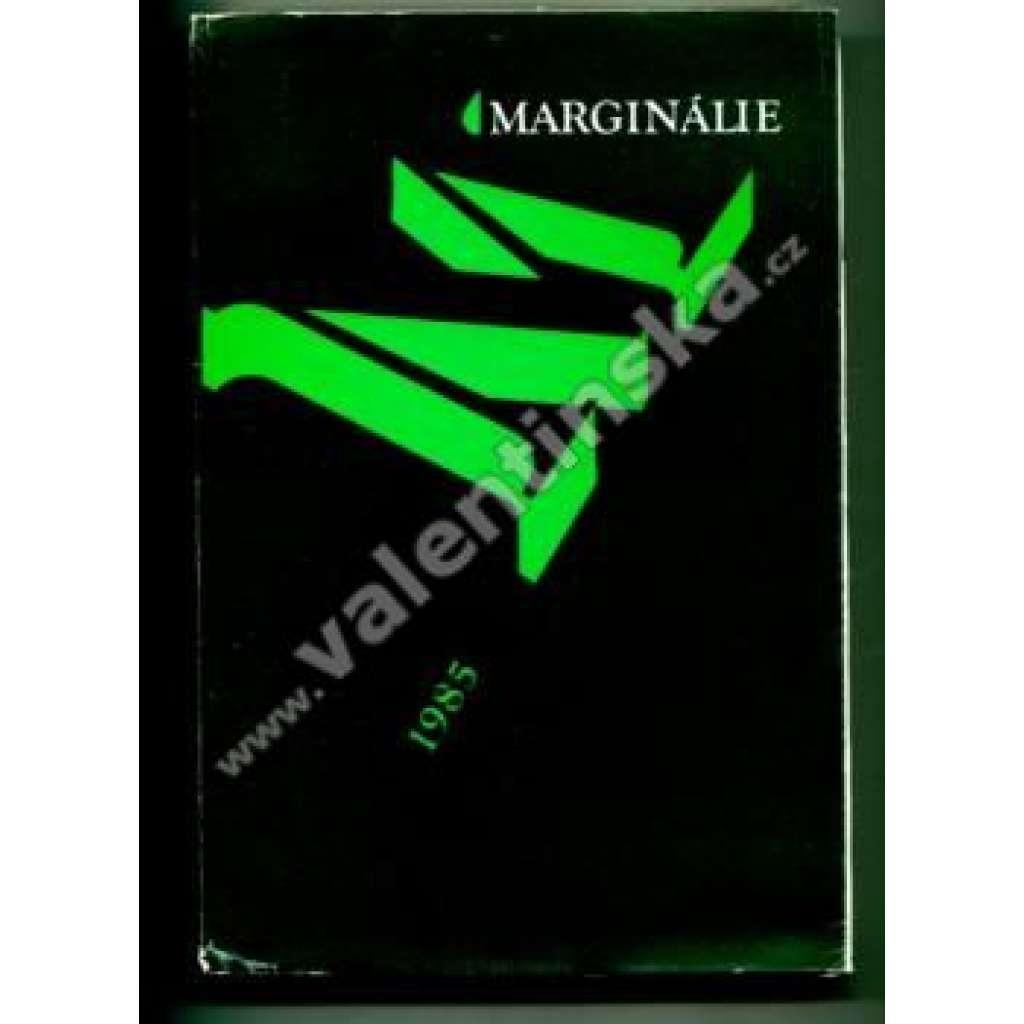 Marginálie 1980/1985 : sborník k sedmdesátému páté