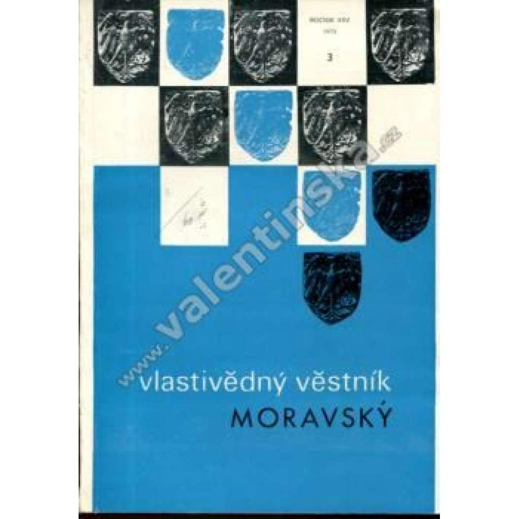 Vlastivědný věstník moravský, 3/1973 (r. XXV.)