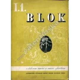 časopis Blok, roč. I., č. 1.