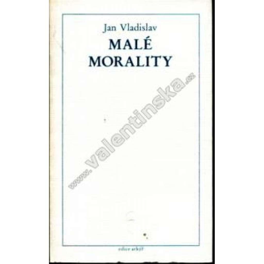 Malé morality (edice Arkýř, exilové vydání)