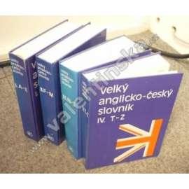 Velký anglicko-český slovník, 4 svazky