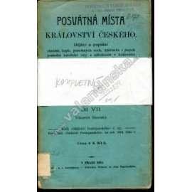 Posvátná místa Království českého, 1/VII.