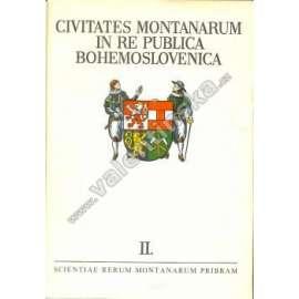 Civitates montanarum ... bohemoslovenica, II.