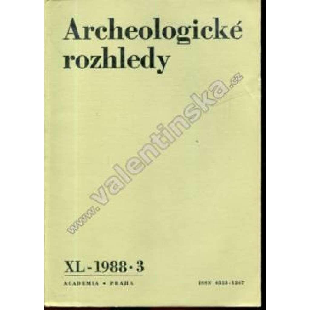 Archeologické rozhledy, XL. (1988), č. 3