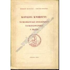 Katalog knihovny Numismatické společnosti...